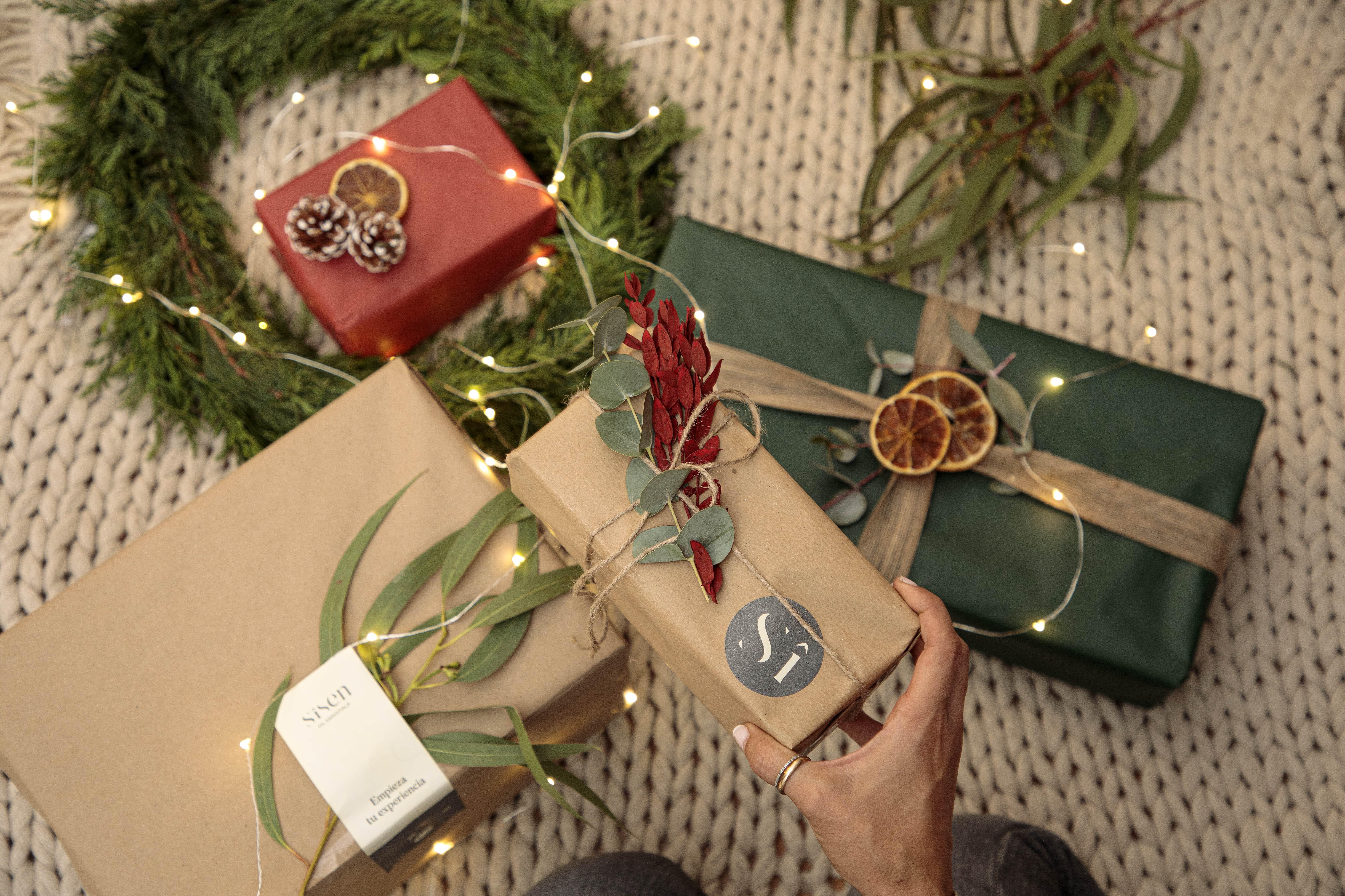 aceites esenciales para navidad con sisen